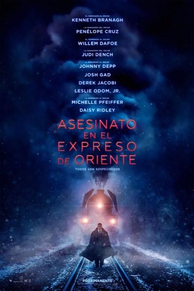 Murder On The Orient Express New International Poster