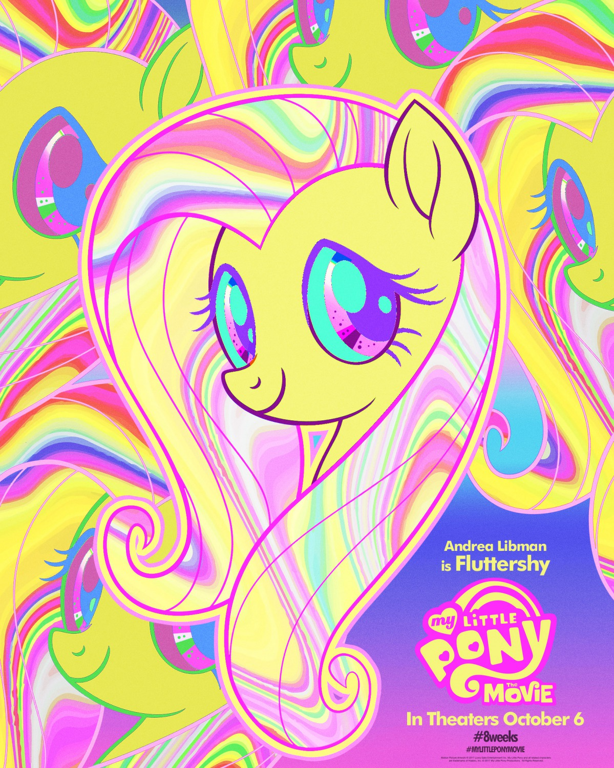 my little pony movie character posters teaser trailer
