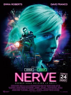 Nerve French Poster
