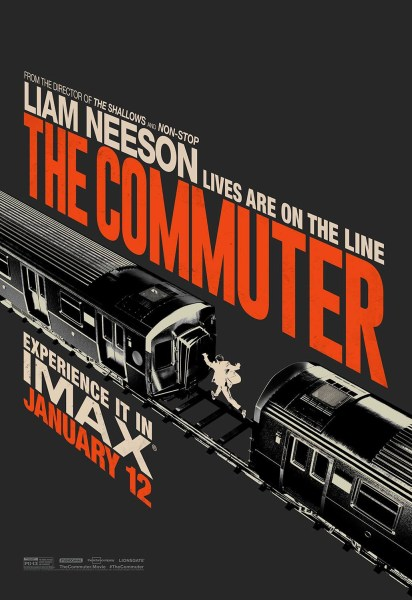 New IMAX Poster For The Commuter