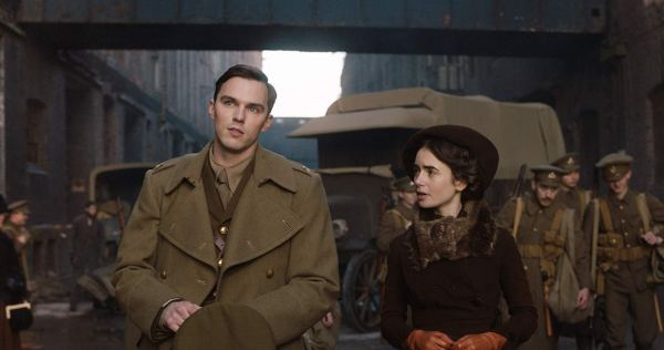Nicholas Hoult And Lily Collins In Tolkien (2019)
