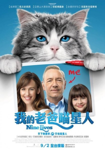 Nine Lives International poster