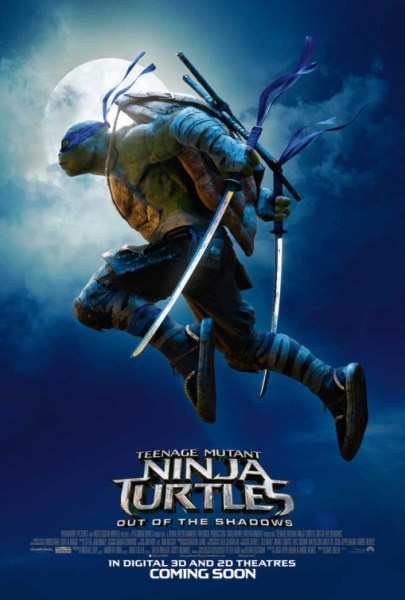 Ninja Turtles 2 - Moonlight poster