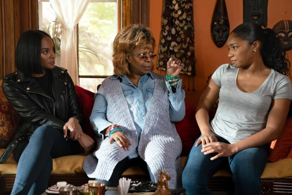 Nobody's Fool Movie - (L-R) Tika Sumpter, Whoopi Goldberg and Tiffany Haddish in Nobody's Fool from PARAMOUNT PICTURES, PARAMOUNT PLAYERS, TYLER PERRY STUDIOS and BET FILMS.
