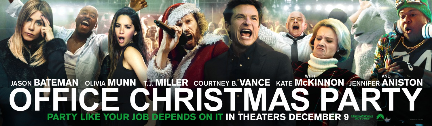 Office Christmas Party Movie.11 Clips Of Office Christmas Party Teaser Trailer