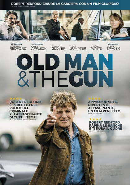 Old Man And The Gun New Film Poster