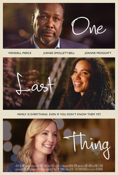 One Last Thing Movie POster