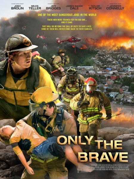Only The Brave Philippines Poster