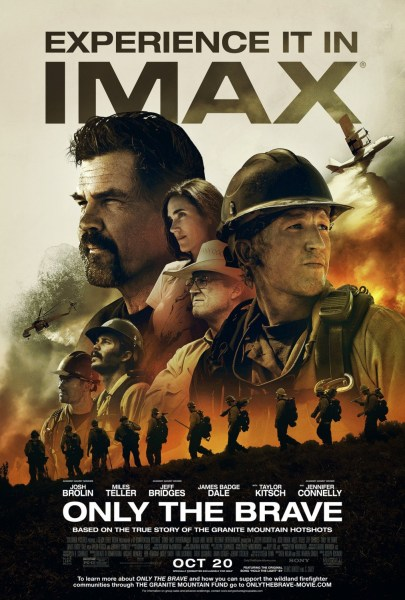 Only The Brave IMAX Poster