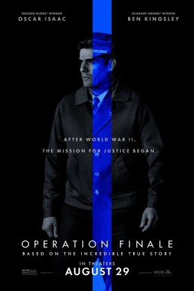 Operation Finale New Character Poster - Oscar Isaac