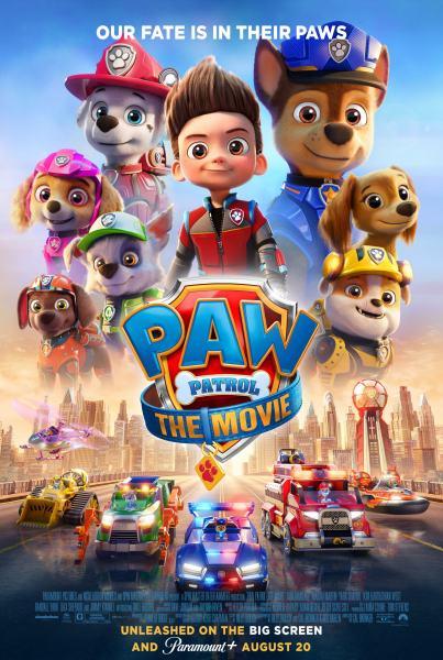 PAW Patrol Movie Poster