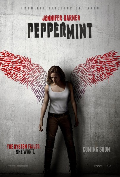 Peppermint Movie Poster