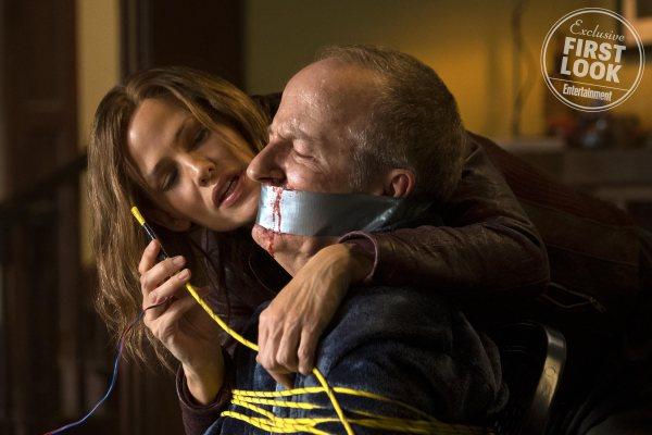 Jennifer Garner and Jeff Harlan star in PEPPERMINT