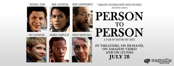 Peson To Person Movie Banner