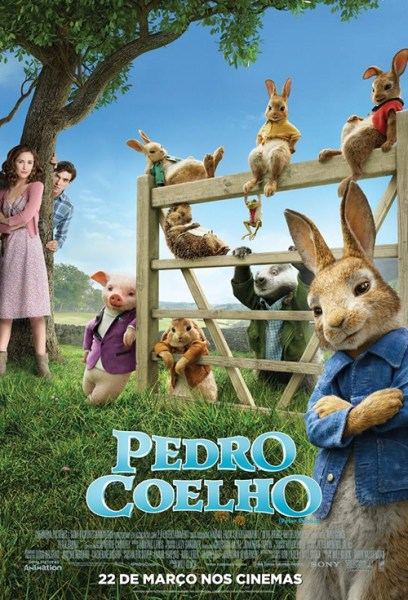 Peter Rabbit - Brazil Poster