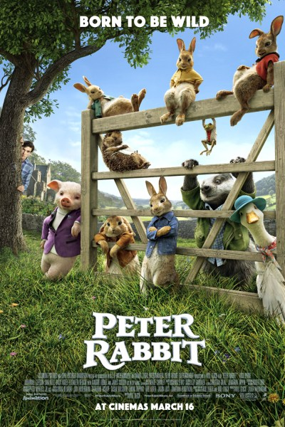 Peter Rabbit UK Poster