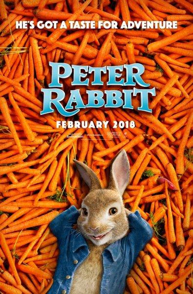 Peter Rabbit New Poster