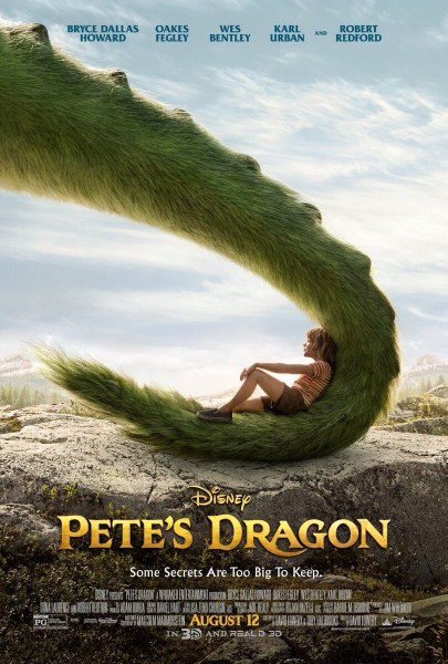Pete's Dragon Furry Tail Poster