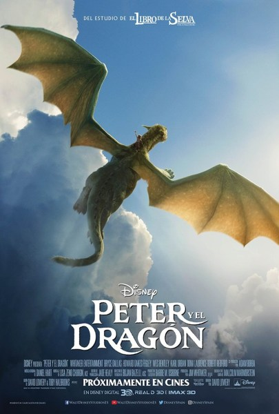 Pete's Dragon - New Poster - Flying in the sky