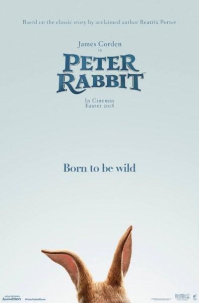 Petter Rabbit New Teaser Poster