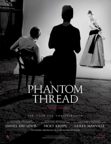 Phantom Thread New Poster