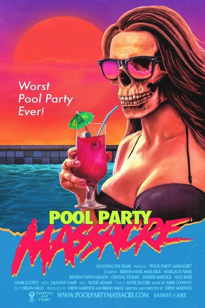 Pool Party Massacre Movie Poster