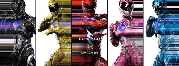 Power Rangers Movie March 2017