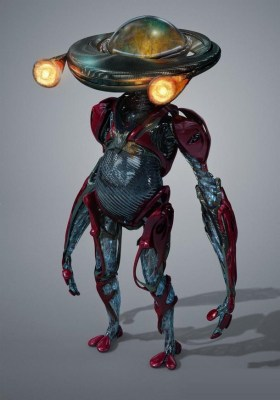 Power Rangers Movie - Alpha 5 Concept Art