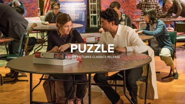 Puzzle Film - Kelly Macdonald And Irrfan Khan