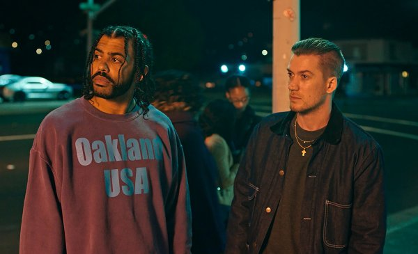 Rafael Casal And Daveed Diggs in the movie Blindspotting