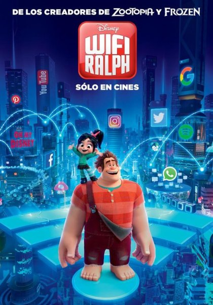 Ralph Breaks The Internet New Film Poster