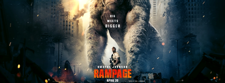 rampage movie poster teaser trailer
