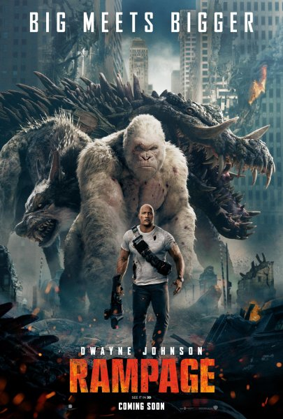 Rampage Poster Big Meets Bigger