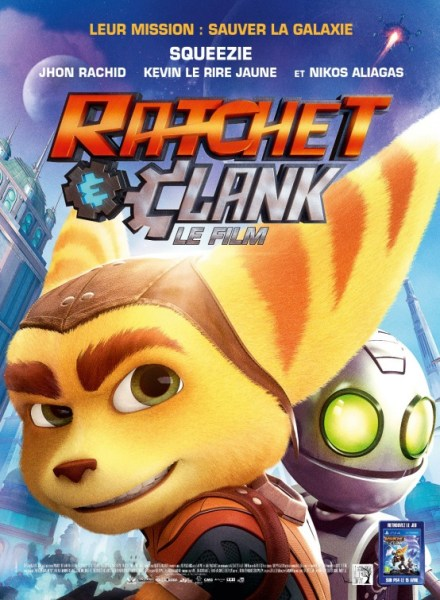 Ratchet and CLank French Poster