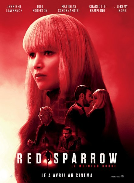 Red Sparrow French Poster