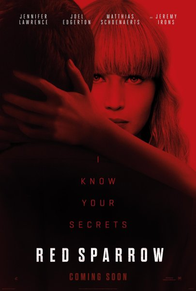 Red Sparrow New Film Poster
