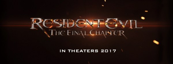 Resident Evil The Final Chapter movie in theaters 2017