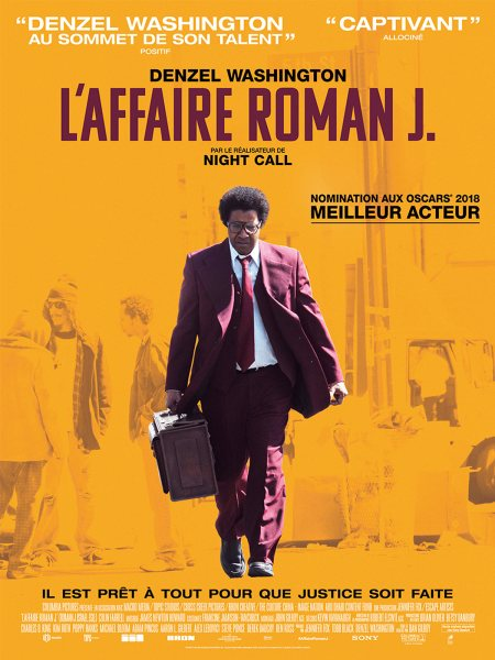 Roman J Israel Esq French Poster