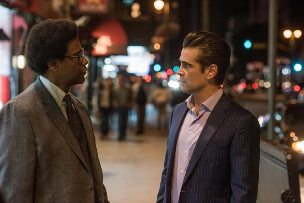 'Roman J. Israel, Esq' Movie - Denzel Washington and Colin Farrell