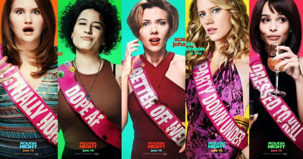 Rough Night - Comedy movie 2017
