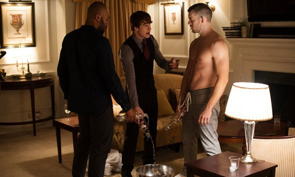 Russell Tovey, Nico Mirallegro, And Arinzé Kene In The Pass