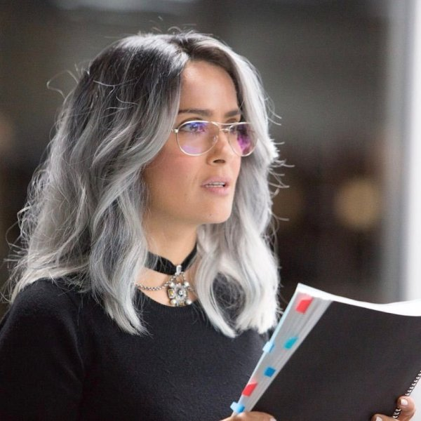 Salma Hayek As Eva Torres In The Hummingbird Project