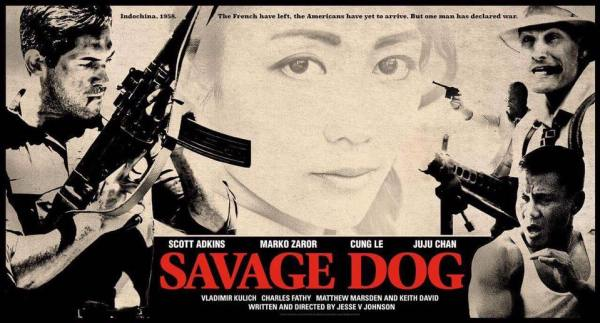 Savage Dog Teaser Banner Poster