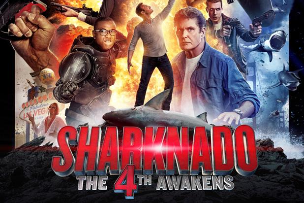 Sharknado 4' shows stripper using unique method of defense - NY ...