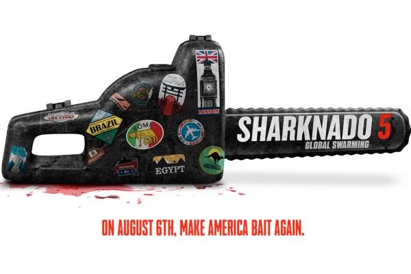 Sharknado 5 Global Swarming Movie
