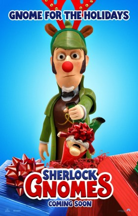 Gnomeo and Juliet 2 - Sherlock Gnomes - Gnome for the holidays!