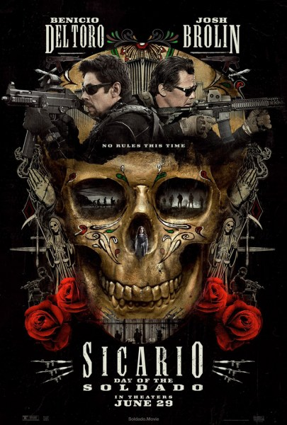 Sicario 2 Day Of The Soldado New Film Poster