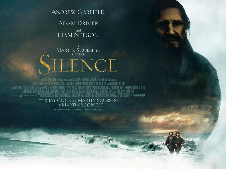 Risultati immagini per silence film 2017 poster