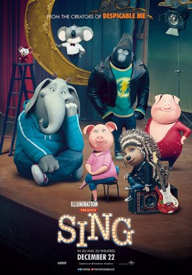 Image result for Sing 2016 Movie Poster