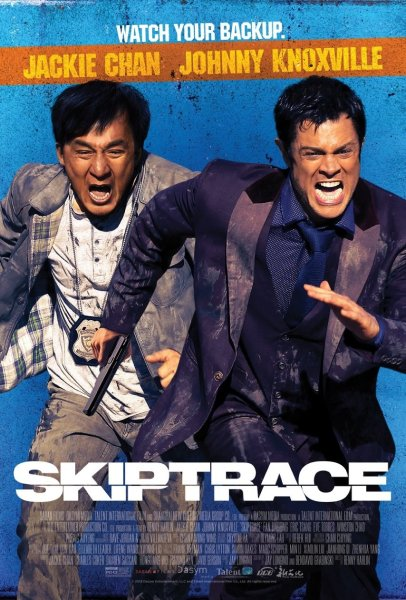 Skiptrace New Poster